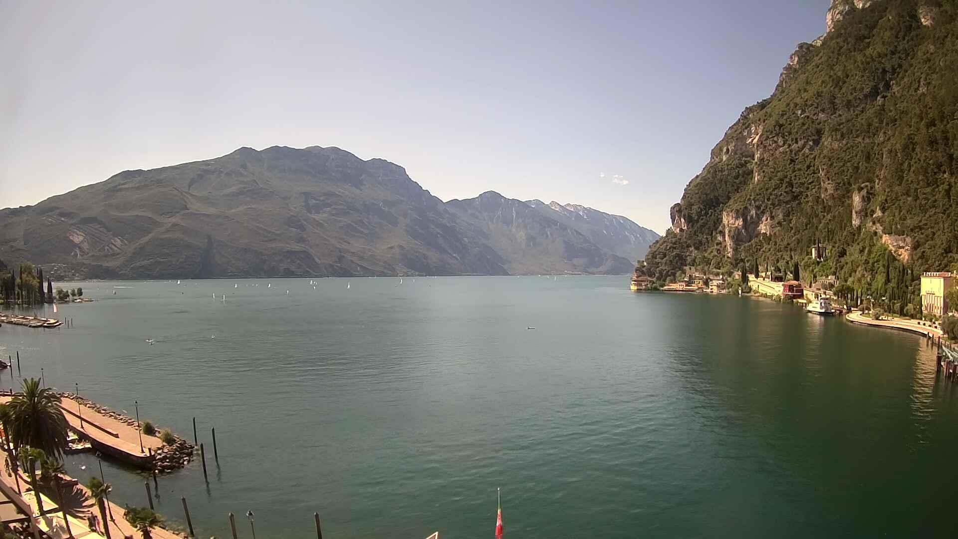 Webcam Gardasee Riva del Garda Hotel Sole